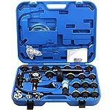 KKmoon 28pz Attrezzi per Automobili Kit di Pompa Tester per Sistema di Raffreddamento con Tester di Compressione per Motori a Benzina, Serbatoio dell?¡¥Acqua, Rilevamento Perdite
