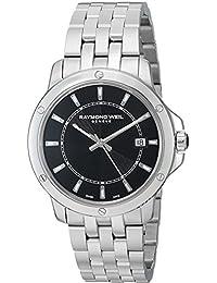 Raymond Weil 5591-ST-20001 - Reloj para hombres, correa de acero inoxidable color plateado