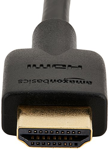 AmazonBasics High-Speed HDMI 2.0 Cable - 1.8m/6 Feet (Latest Standard) Supports Ethernet, 3D, Audio Return