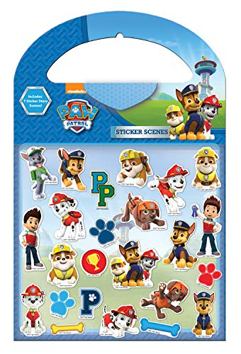 Paper Projects 9107052 Paw Patrol Mega-Sticker, Pink