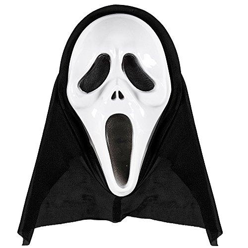 Widmann 14383 Maske mit Kapuze, One -