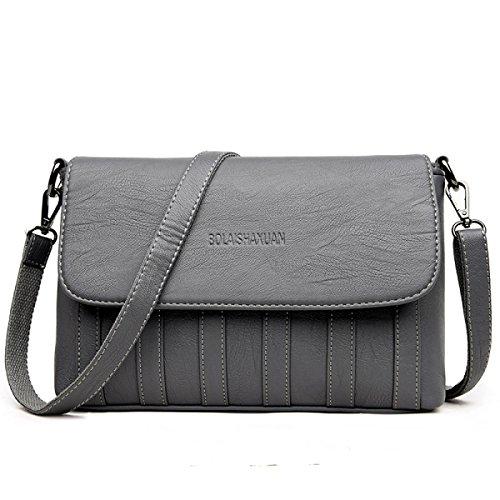 Dame Simple Fashion Handtasche Wild Schultertasche Messenger Bag B