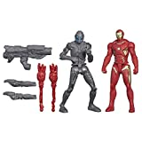 Marvel Avengers - Age of Ultron - 2er Pack - Iron Man Mark 45 Vs Sub-Ultron 010 - 2 Spielfiguren a 6 cm