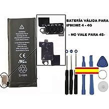 kit reparacion bateria interna + herramientas original para Apple iphone 4 4g