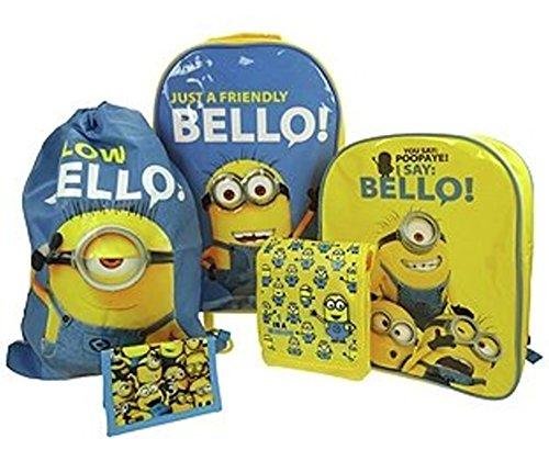 MINIONS Juego de maletas set, amarillo (Azul) - MINIONS001032-459*