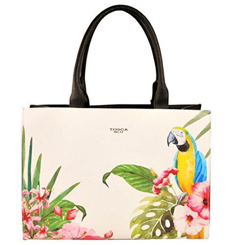 Borsa shopping Tosca Blu | Perroquets | P / E 2016 | TS1635B10-Nero