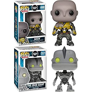 Funko POP Ready Player One Aech The Iron Giant Stylized Vinyl Figure Bundle Set NEW