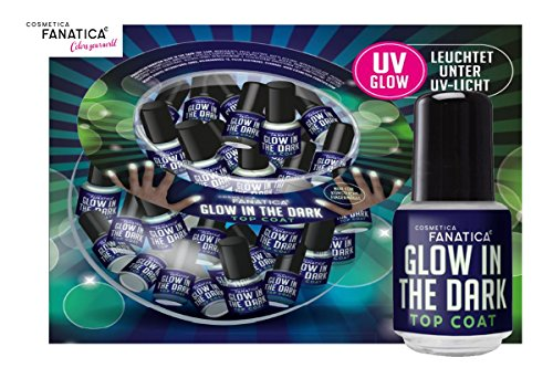 Cosmetica Fanatica Glow in the Dark Nagellack, UV, fluoreszierend (Dark The In Glow Tattoo)