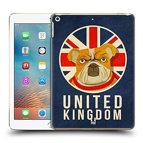 Head Case Designs Royaume-Uni Animaux Patriotiques Étui Coque D'Arrière Rigide Pour Apple iPad Pro 2 9.7 (2017)