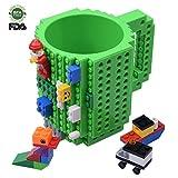 Best Kids Birthday Gifts - Build-on Brick Mug, Lego Style Coffee Mugs, Birthday Review