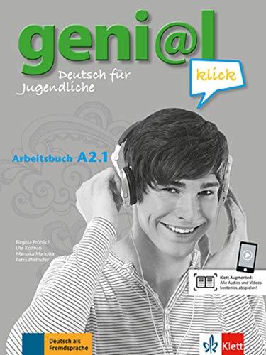 geni@l klick a2.1, libro de ejercicios con audio online por Vv.Aa.