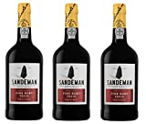 Portwein Sandeman Ruby - Dessertwein - 3 Flaschen