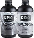 (2 PACK) Bleach London Silver Shampoo x 250ml & Bleach London Silver Conditioner x 250ml by Bleach London