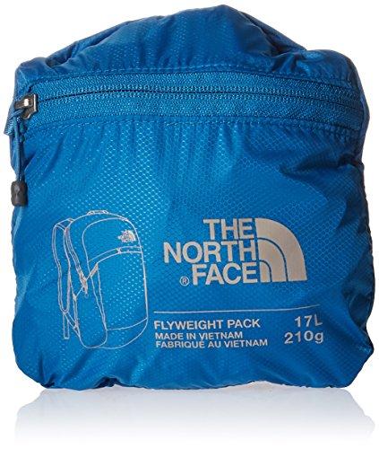 The North Face Erwachsene Reisetasche Flyweight Pack Banff Blue/Metallic Silver