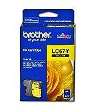 Brother LC67 Original YELLOW Cartridge
