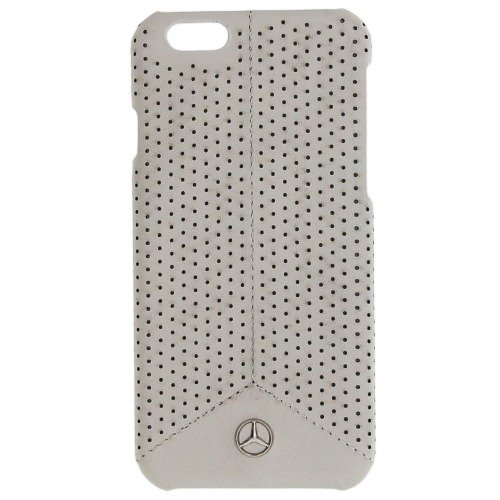 FACEPLATE MERCEDES PURE LINE COMPATIBILE CON IPHONE 6 6S PERFORATED GREY -