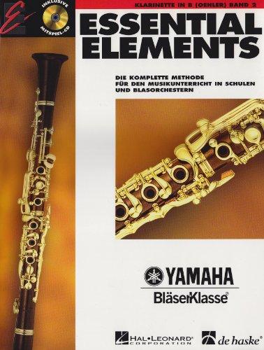 Essential Elements, für Klarinette in B (Oehler), Bd. 2, m. Audio-CD
