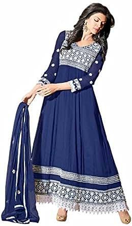 Anarkali Dress Semi Stitch Only Rs.199/- Without Duppata