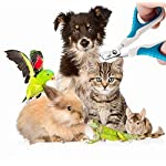 MAIYADUO Pet Cat Nail Clippers Trimmer, Cat Puppy Rabbit Bird Kitten Hamster Stainless Steel Blades Nail Clippers… 14