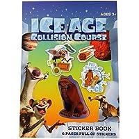 A4 Zeichnung und F/ärbung Notizblock mit Bleistift 20 Blatt Wei/ß Ice Age Collision Course 30 Blatt F/ärbung