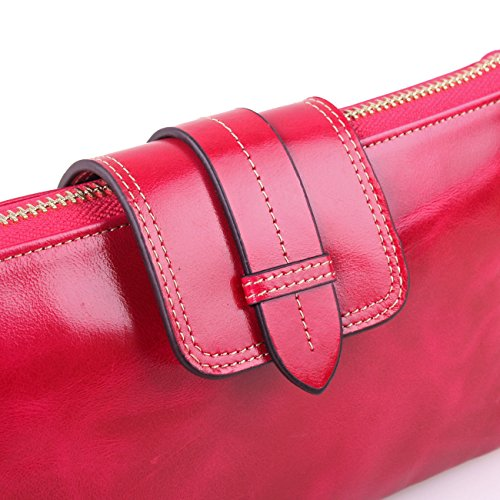 Mirando A La Venta En Línea La Venta De Alta Calidad KorMei - Borsetta senza manici donna Rose Red FOvjKJXs8