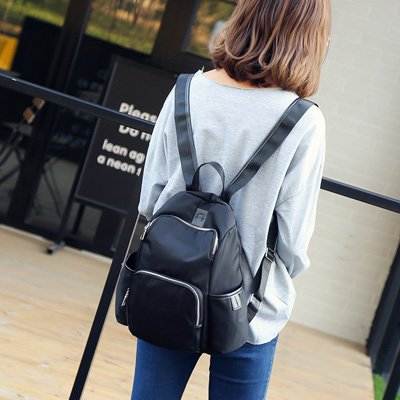 MAPLE-Fashion all-match Oxford Nylon Backpack Female Travel Backpack diaper bag,Trumpet