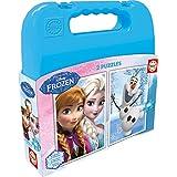 Frozen - Maleta con 2 puzzles, 48 piezas (Educa Borrás 16514.0)