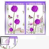 Einfache Selbstklebend Türen für häuser bildschirm Für Schlafzimmer, Magic stickers Türen mit magneten bildschirm Stealth-magnetismus Velcro magnetische tür siebgewebe Tür vorhang Der moskito-B 90x120cm(35x47inch)