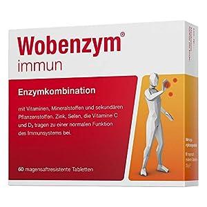 Wobenzym immun Tabletten, 60 St. Tabletten