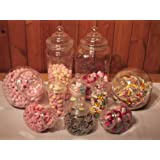 Plastic Jar Party Pack-10 Assorted Jars