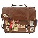 Disaster Designer Handtasche Apothecary, außergewöhnliches Design mit tollem Druck und vielen Applikationen