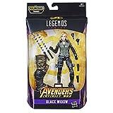 Hasbro Marvel Legends Series- Black Widow Action Figure da Collezione, 15 cm, Ispirata al Film, Multicolore, E3983CB0
