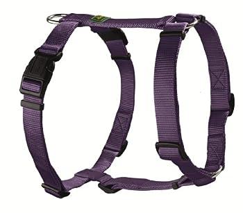 Hunter 35762 Vario-Rapid Harnais en nylon pour chien Violet M 48-70 cm Ajustable en 5 points