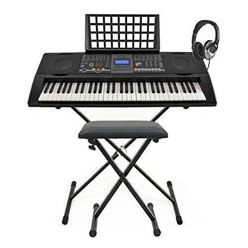 TECLADO MK 6000 MIDI USB DE GEAR4MUSIC + PACK COMPLETO