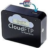 HyperDrive CloudFTP BLACK / SCHWARZ USB-Host + WiFi-Cloud-Adapter. Macht ALLE USB-Daten WLAN-fähig. Streamt USB-Daten direkt an WiFi-Geräte wie iPad, iPhone, Tablet, Smartphone etc.