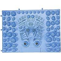 ZDDAB Fußmassage Pad Akupressurmassage Gesundheit Massage Matte Fitness Mat (Stück) (Farbe : Blau) preisvergleich bei billige-tabletten.eu