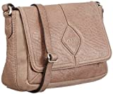 JETTE Mrs. Fox small Shoulder Bag 4030001027, Damen Schultertaschen, Weiß (nature 103), 24x15x8 cm (B x H x T)