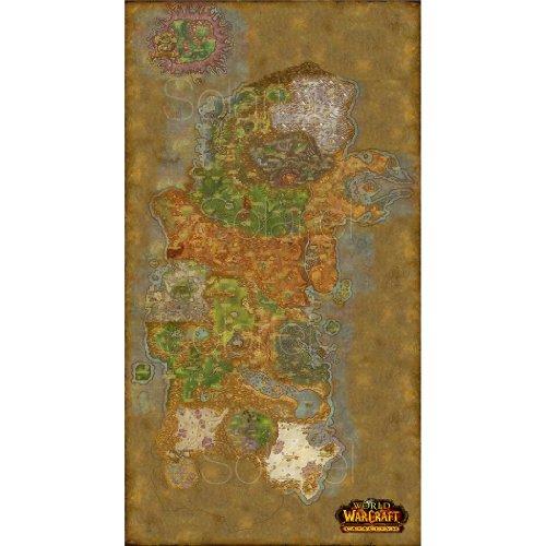 World of Warcraft – Kalimdor Seiden Plakat