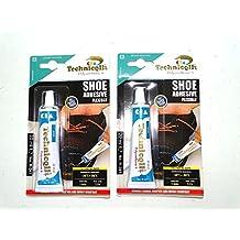 Fuerte pegamento adhesivo para zapatos cuero, caucho, fieltro de nailon de piel sintética tejidos 20ml Nuevo