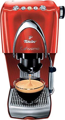 Tchibo CAFISIMO CLASSIC HOT RED Kapsel-Kaffeemaschinen, Rot