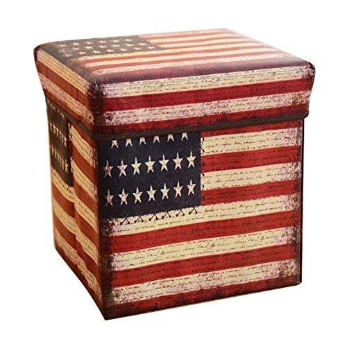 Haushaltsspeicher Hocker Spielzeug Aufbewahrungsbox Multifunktionale Lagerung Stuhl-A5