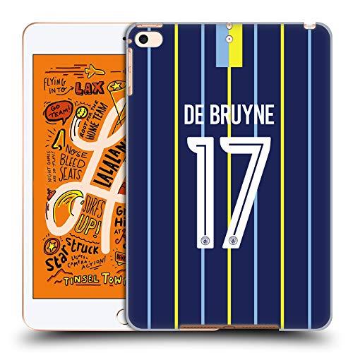 Head Case Designs Offizielle Manchester City Man City FC Kevin De Bruyne 2018/19 Spieler Away Kit Gruppe 1 Harte Rueckseiten Huelle kompatibel mit iPad Mini (2019) -
