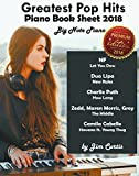 Greatest Pop Hits Piano Book Sheet 2018: Big Note Piano: Piano Book - Piano Music - Piano Books - Piano Sheet Music - Keyboard Piano Book - Music Piano ... Music Book - Adult Piano (English Edition)