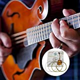 Redcolourful IR-in M101 Mandolin Strings Set Silver-Plated Stainless Steel Copper Alloy Wound Products