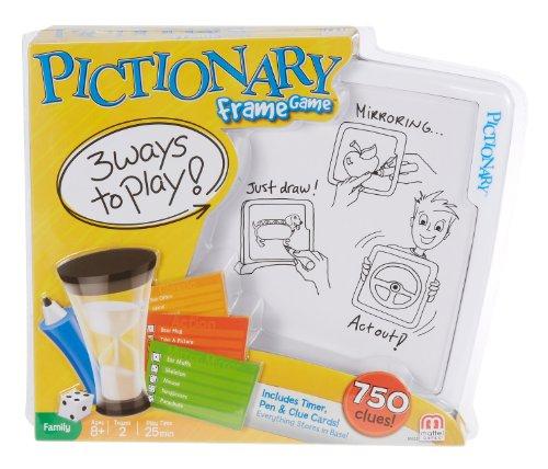Pictionary - Bilder-Rahmen Spiel (Anleitung in Englischer Sprache)[UK Import]