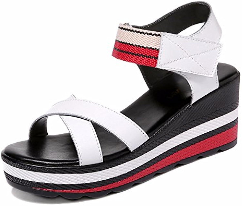 1a4f12a8ab6140 les talons de chaussures gtvernh talus de fleurs sauvages, les les les  sandales de velcro, sandales d'orteils.b07dhg6mfq parent | En Ligne d518a0