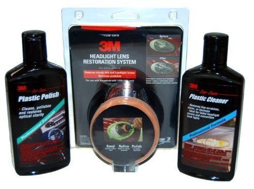 professional-headlight-restoration-kit-with-polisher-and-plastic-polish-and-cleaner-by-3m