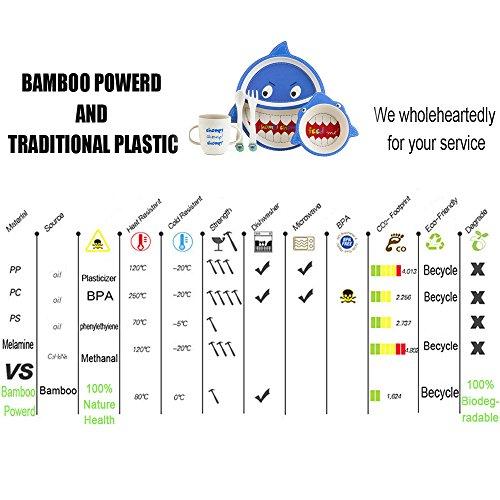 Bambus Babygeschirr Set - 6