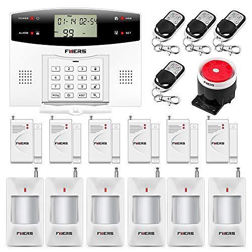 Fuers - G2 Alarme Maison GSM PSTN Appel Sirène Cambriolage...