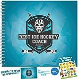 Meilleur Coach Livret de prix de reconnaissance Ice Hockey